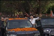 BJP National Executive Meet: PM Modi's Roadshow in Bhubaneswar