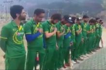 Club Cricket Team in Kashmir Sings Pak National Anthem, Video Goes Viral