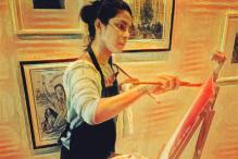 Priyanka Chopra Turns Painter On a Day Off