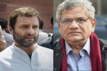 Rahul Gandhi, Sitaram Yechury Discuss Tactics on Amendments to GST Bills