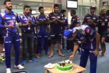 Watch Harbhajan Singh's Special Act as Rohit Celebrates Birthday