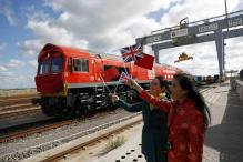 First 'Silk Road' Train From Britain Leaves For China