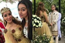Sofia Hayat Ties The Knot With Romanian Beau Vlad Stanescu, See Pics