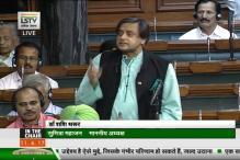 In Rare Bipartisan Support, Tharoor Helps Govt Draft Statement on Jadhav