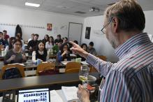 Chinese Students Imbibe Secrets of Burgundy Winemaking