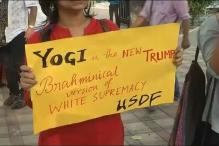 'Azaadi' Slogans, 'Yogi is the New Trump' Banners at Jadavpur University