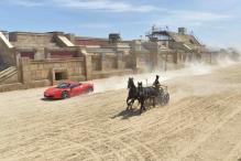 Ferrari Wins Against Thoroughbreds in 'Ben Hur' Duel