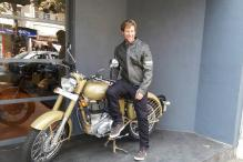 Jonty Rhodes' Love For Royal Enfield Spotted in Mumbai Showroom
