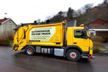 Volvo Testing Autonomous Garbage Truck in Partnership With Renova
