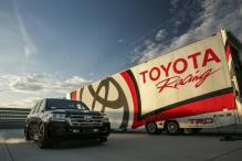 Toyota Land Speed Cruiser Claims 'World's Fastest SUV' Title