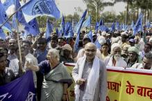 Medha Patkar Leads Sardar Sarovar Dam Displaced to Bhopal, Holds Protest
