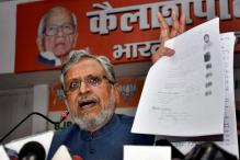Nitish is Wasting Time Meeting Rahul Gandhi, Says Sushil Modi