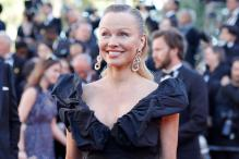 Pamela Anderson at '120 Beats Per Minute' screening at Cannes Film Festival