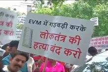 Gopal Rai Leads Protest as AAP MLAs Take EVM Row to EC Doorstep