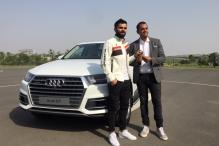Virat Kohli Gets Audi Q7 on Audi's 10th Anniversary in India