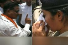 BJP MLA Makes Woman IPS Officer Cry in CM Adityanath's Constituency