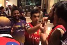 IPL 2017: Kolkata Celebrate Hyderabad Victory in Special Style