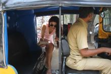 Jacqueline Fernandez Enjoys Auto Ride With Brother in Mumbai