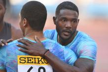 Justin Gatlin Wins 100 meters at Golden Grand Prix in Japan