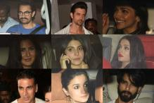 The who's who of Bollywood at Karan Johar's birthday party