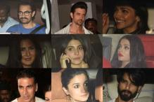 The who's who of Bollywood at Karan Johar's birthday party