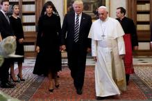 What Do You Feed Him? Pope Queries Melania About Trump's Food Habits