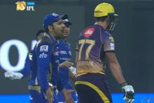 IPL 2017: Umpire's Faux Pas Leaves Rohit Sharma Angry