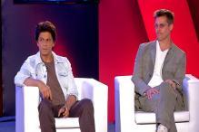 Brad Pitt, Shah Rukh Khan Chat Exclusively With CNN-News18