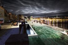 Stockholm Infinity Pool Proposes a New Vista For The Scandinavian City