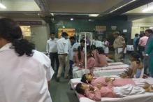450 Girls Rushed to Hospital After Gas Leak Near Tughlakabad Schools