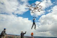 Sky Diving From a Super-Powered Drone Now a Reality