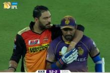 IPL 2017: Yuvraj Intervenes After Uthappa Elbows Siddarth Kaul