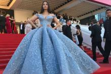 Aishwarya Looks Like a Princess Straight Out Of A Fairy Tale At Cannes 2017