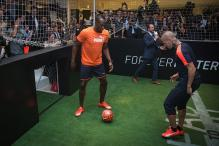 Usain Bolt Wants to be Among the Best Footballers in the World