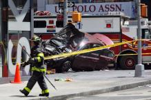 1 Dead, 20 Injured as Car Plows Into Times Square Crowd