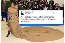 Priyanka Chopra's Iconic Dress at Met Gala Leads to Hilarious Twitter Jokes
