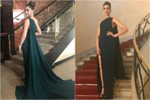 Deepika Padukone Slays In A Brandon Maxwell Gown At Cannes 2017