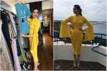 Cannes Day 2: Deepika Looks Like Sunshine In A Bright Yellow Dress