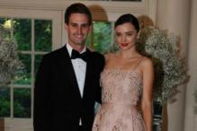Miranda Kerr Marries Snapchat CEO Evan Spiegel