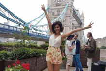 Taapsee Is Having a Jolly Good Time In London While Shooting For Judwaa 2