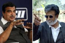 BJP Has an 'Appropriate Place' for Rajinikanth, says Nitin Gadkari