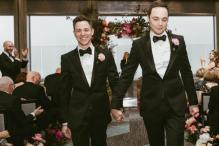The Big Bang Theory Star Jim Parson Marries Longtime Partner Spiewak