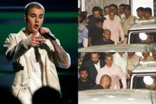 Justin Bieber Arrives In India, Salman Khan's Bodyguard Shera Receives Him