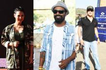 Rochelle, Remo and Other Stars Arrive For Bieber's Concert in Mumbai