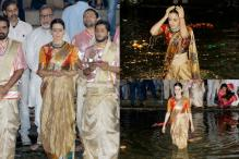 Kangana Ranaut's Aarti During Manikarnika Poster Launch Is Like a Well-shot Film Scene