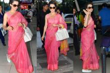 You Have To Credit Kangana Ranaut For Sporting a Sari With Loafers So Gracefully