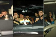 Bollywood Stars Attend Karan Johar's Birthday Bash