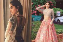 Sara Ali Khan, Jhanvi Kapoor Look Sublime As They Step Out In Sabyasachi Lehengas