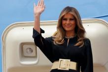 Melania Trump skips Headscarf as She Arrives in Saudi Arabia