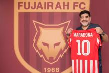 Maradona Named Coach of Second-tier UAE Club Al-Fujairah